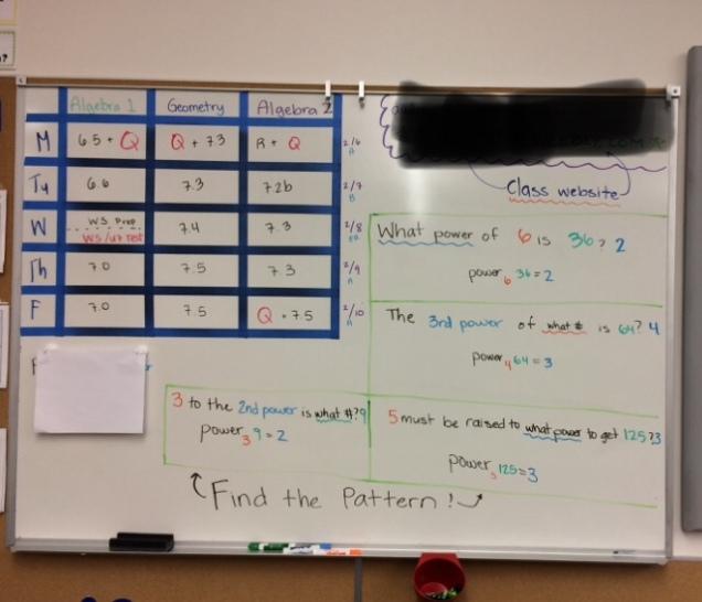 Classroom Weekly Agenda